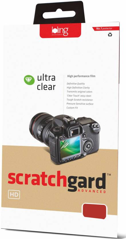 Scratchgard Screen Guard for Canon EOS 70D