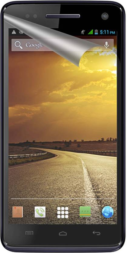 Snooky Screen Guard for Micromax A120 Canvas 2 Colors Pack of 4