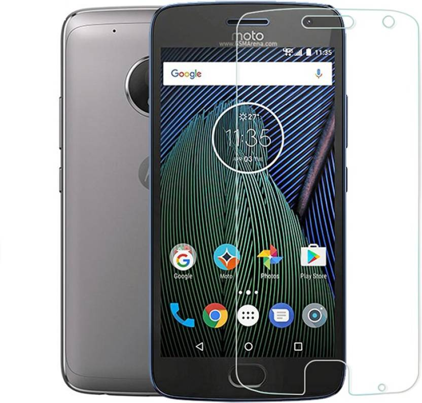 Mercator Tempered Glass Guard for Motorola Moto G5 Plus