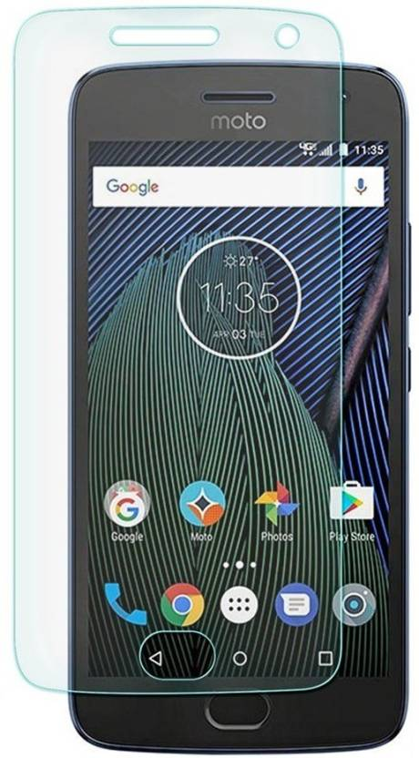 S-Gripline Tempered Glass Guard for Motorola Moto G5 Plus