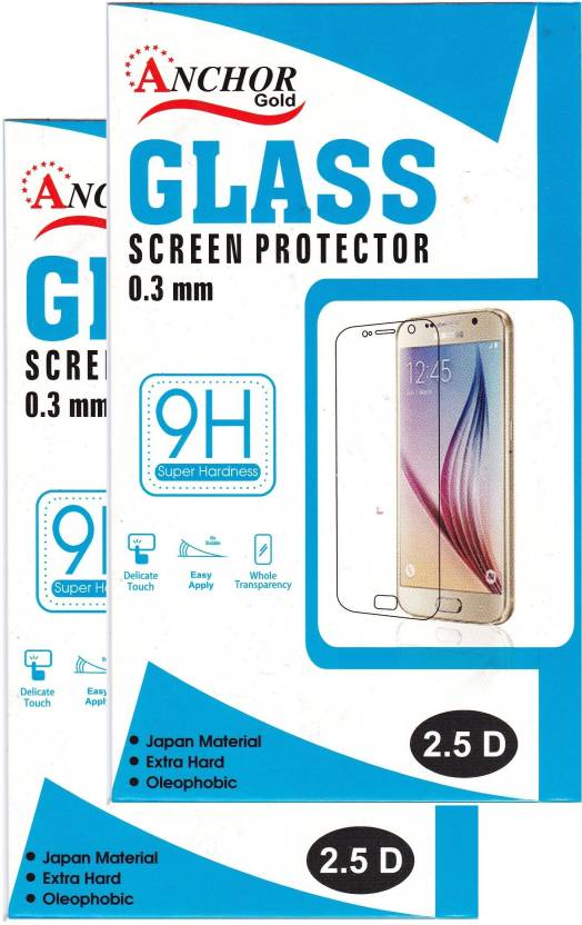 Anchor Gold Tempered Glass Guard for Samsung Galaxy A9 Pro (2016) (Pack of 2)