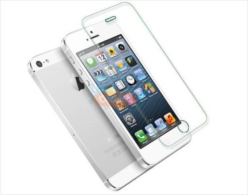 Omlaninternational Tempered Glass Guard for APPLE IPHONE 5
