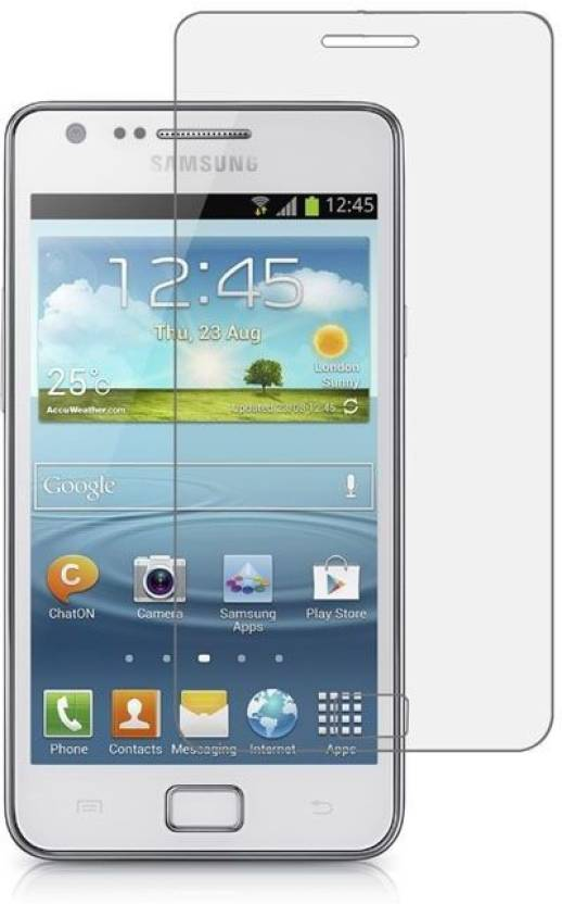 Indian Bazzar Tempered Glass Guard for Samsung Galaxy S 2