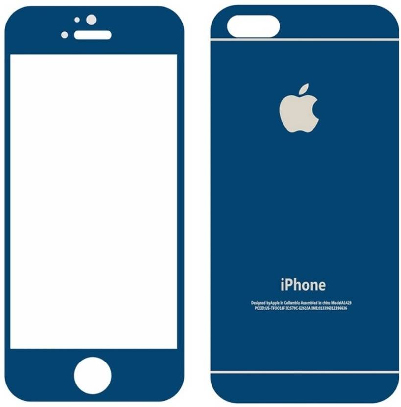 Zootkart Front and Back Screen Guard for Apple iPhone 5s