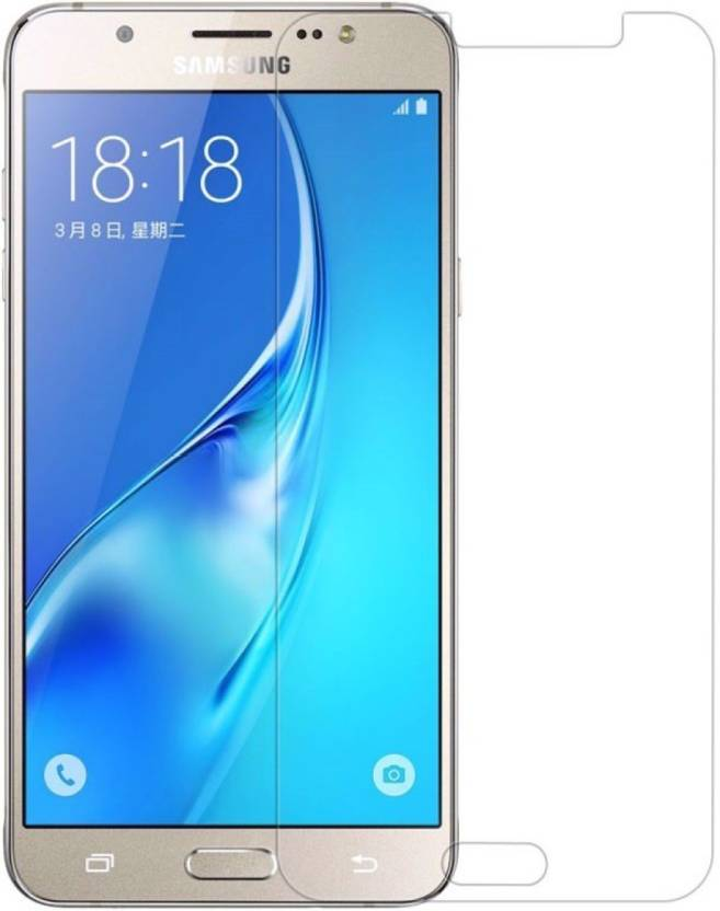 Buynow Tempered Glass Guard for Samsung Galaxy J5   6 Pack of 1 Buynow Screen Guards