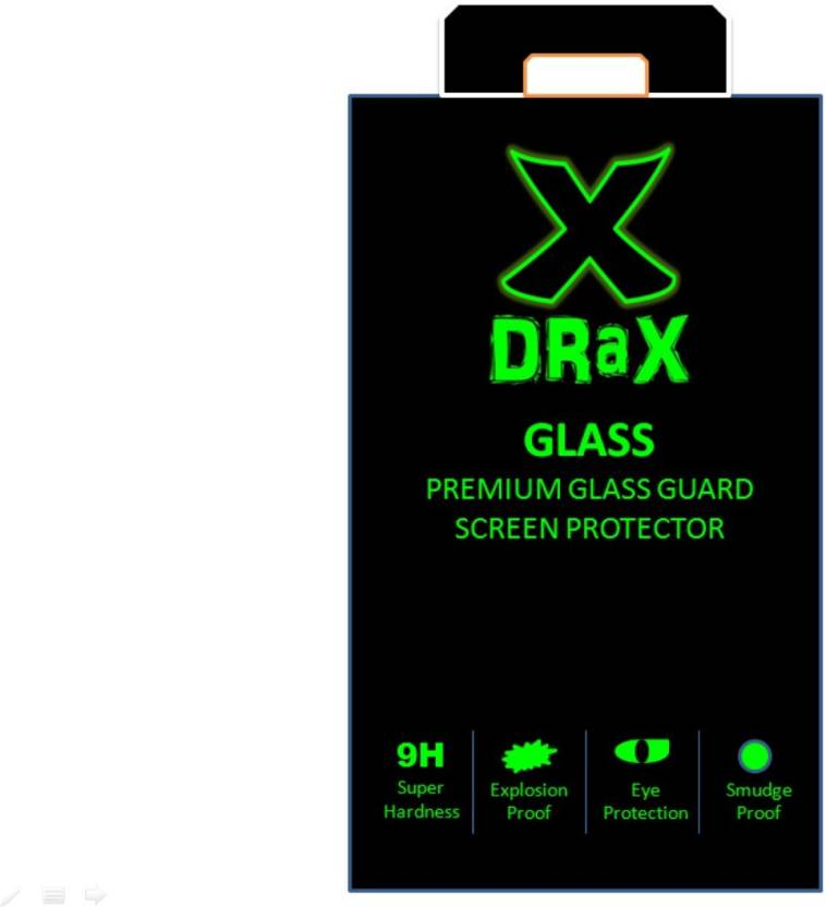 Drax Tempered Glass Guard for Apple iPhone 6(Pack of 1)