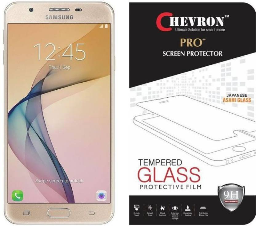 Chevron Tempered Glass Guard for Samsung Galaxy On8