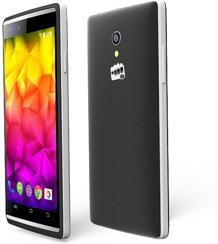 Micromax Canvas fire 4g (Grey, 8 GB)