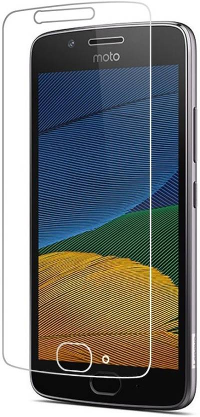 Lustree Tempered Glass Guard for Motorola Moto G5 plus