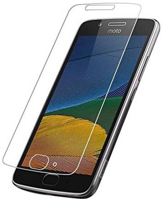 Motorola Tempered Glass Guard for Motorola Moto G5 Plus