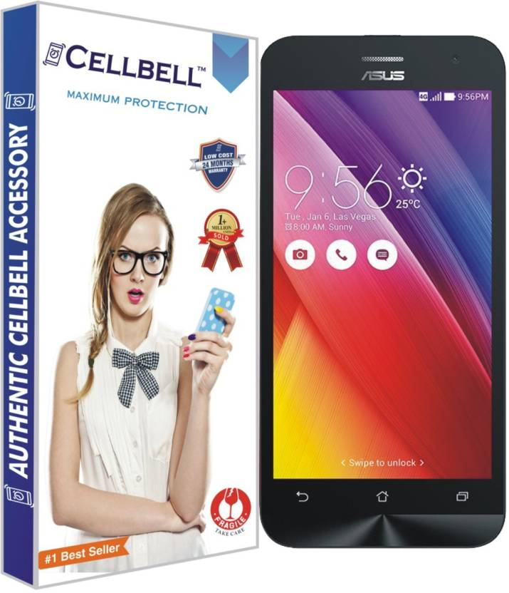 CELLBELL Tempered Glass Guard for Asus Zenfone 2 Laser 5.5 - 2 GB
