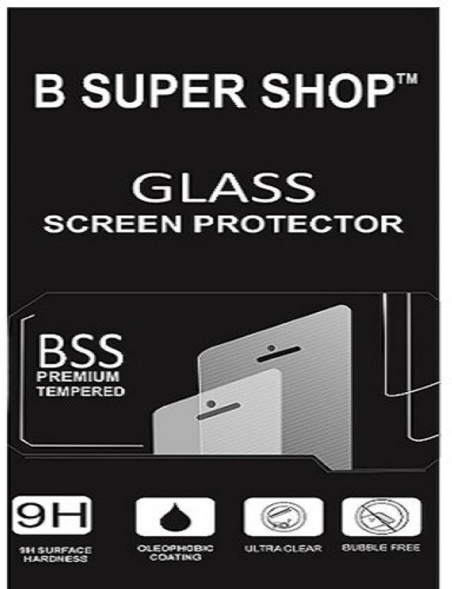 B SUPER SHOP Tempered Glass Guard for Motorola Moto G5 plus