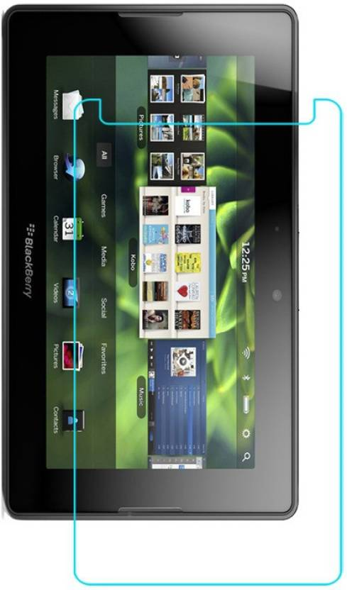 ACM Tempered Glass Guard for Blackberry Playbook Pack of 1