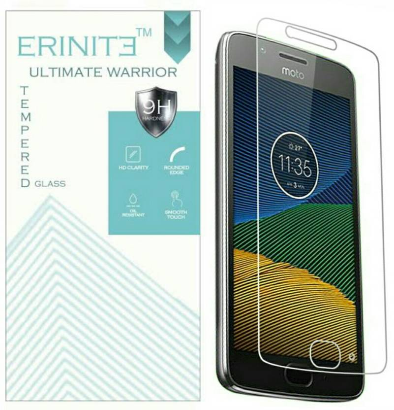 Erinite Tempered Glass Guard for Motorola Moto G5 Plus