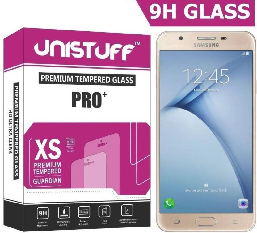 Unistuff Tempered Glass Guard for SAMSUNG Galaxy On Nxt (Pack of 1)