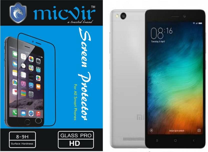 Micvir Tempered Glass Guard for Xiaomi redmi 3s, Xiaomi redmi 3s prime
