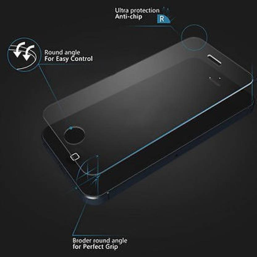 High Fly Tempered Glass Guard for Apple iPhone 5, Apple iPhone 5S