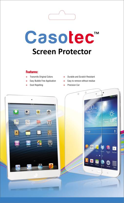 Casotec Tempered Glass Guard for Samsung Galaxy Tab 4 10.1