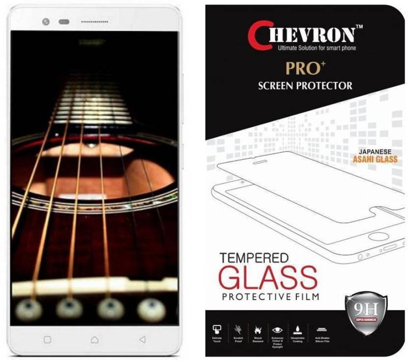Chevron Tempered Glass Guard for Lenovo Vibe K5 Note
