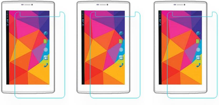ACM Tempered Glass Guard for Micromax Canvas Tab P480,  Pack of 3  Pack of 3