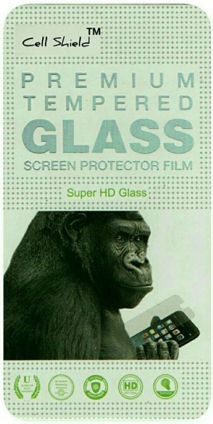 CELLSHIELD Tempered Glass Guard for Micromax Canvas 5 E481 Pack of 1 CELLSHIELD Screen Guards