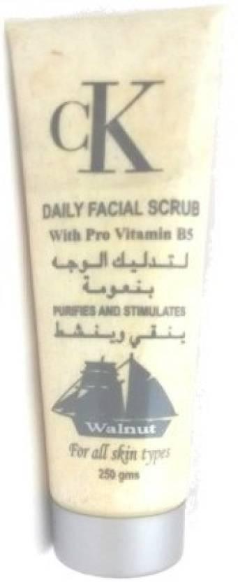 Calvin Klein Daily Facial Walnut Scrub