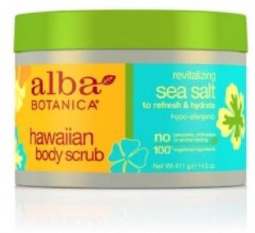 Alba Botanica Revatilizing Sea Salt Scrub