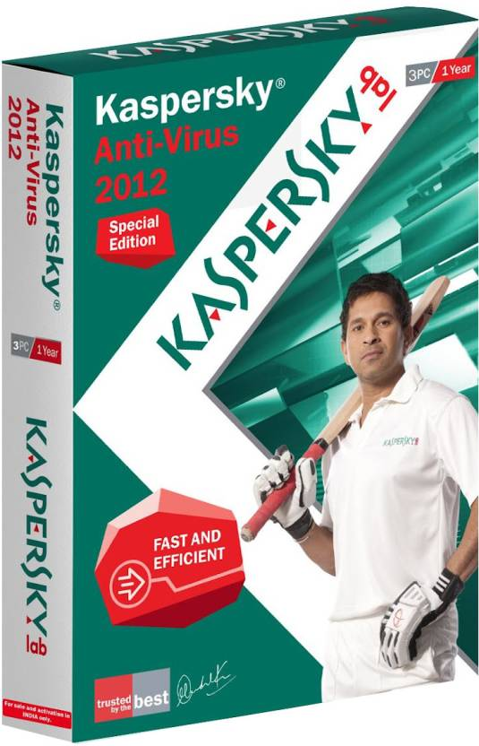 Kaspersky Anti-Virus 2012 Special Edition 3 PC 1 Year