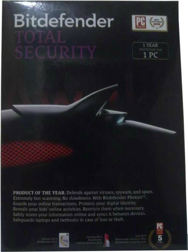 Bitdefender Total Security 1 PC 1 Year