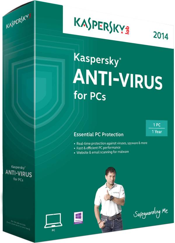 Kaspersky Anti-Virus 2014 1 PC 1 Year