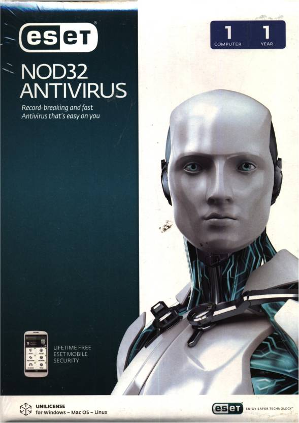 Eset Smart Security NOD32 Anti-virus Version 7 1 PC 1 Year
