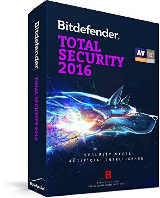 Bitdefender TOTAL SECURITY 1 PC /1Year