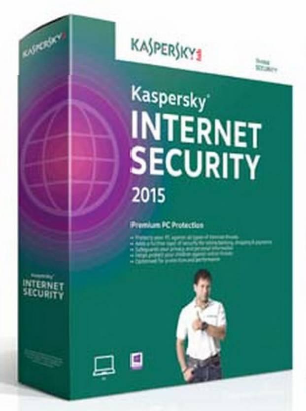 Kaspersky KIS 2015 1PC 1YR