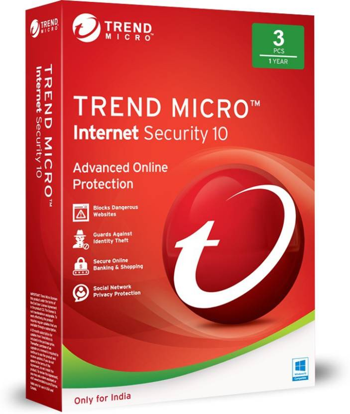 Trend Micro Internet Security - Buy Trend Micro Internet