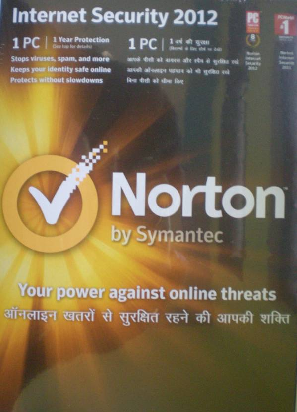 Norton Internet security 2012 1 PC 1 Year