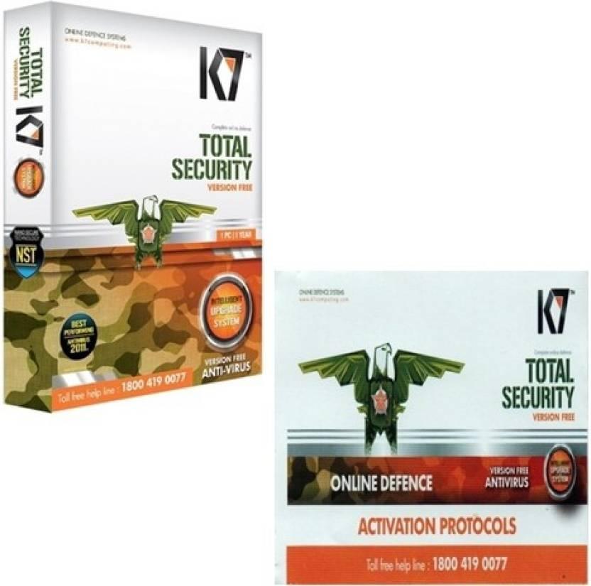 k7 activation code download