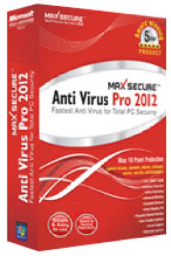 Max Secure Antivirus Pro 2012