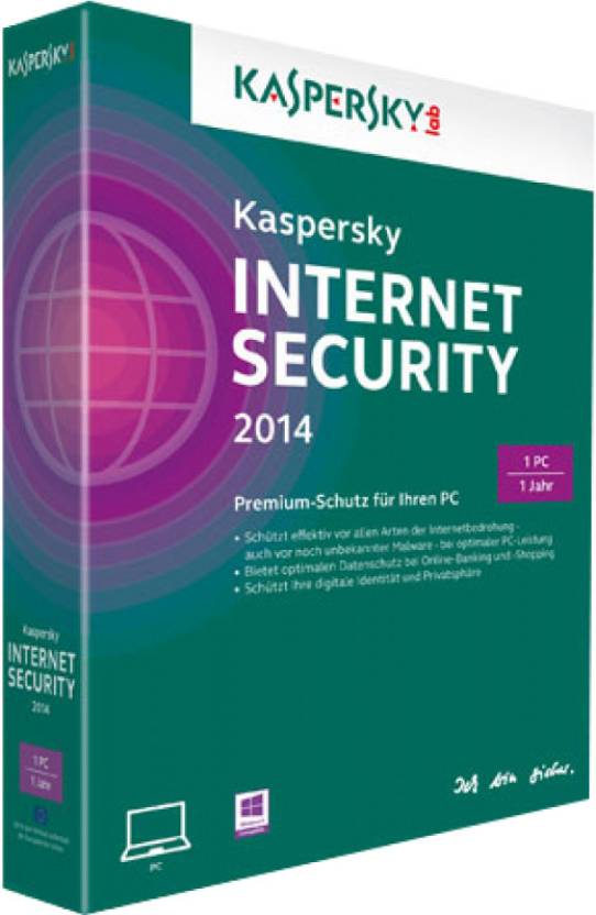 Kaspersky Internet Security 2014 1 PC 1 Year