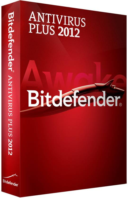Bitdefender Antivirus Plus 2012 3 PC 1 Year