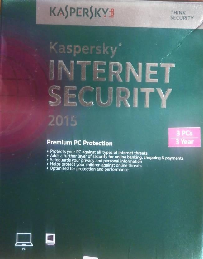 Kaspersky Internet Security 2015 3 PC 3 Year