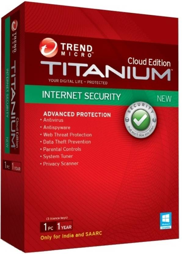 Trend Micro Internet Security Version Free 1 PC 1 Year 1 PC 1 Year