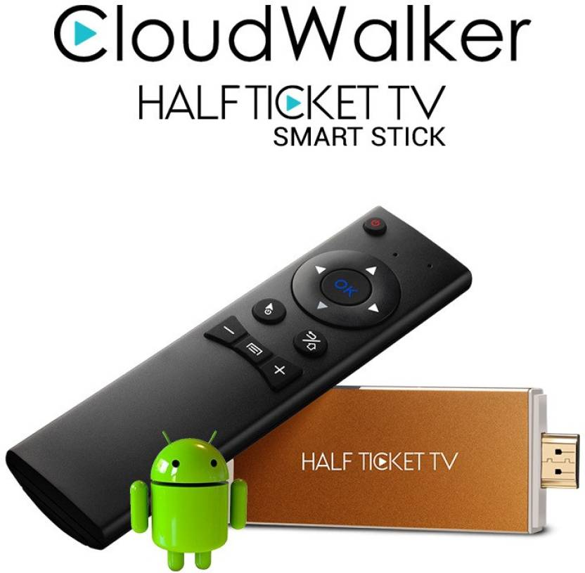 Cloudwalker Halfticket Wifi streaming dongle model AI805 Media Streaming Device