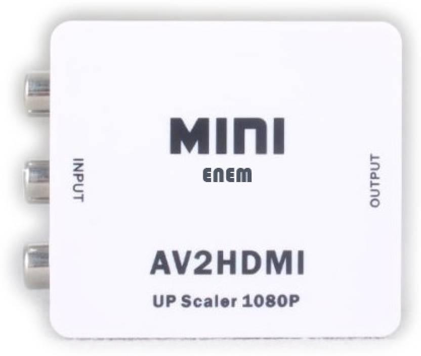 Enem AV to HDMI Converter Mini Media Streaming Device
