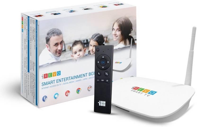iRevo Smart TV - Android with Air Mouse Media Streaming Device