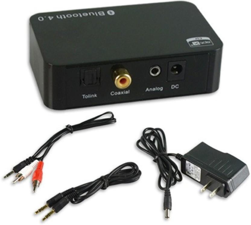 Bluetooth 4.0 Audio Receiver Apt-X RCA Optical Output For Home Media Theater