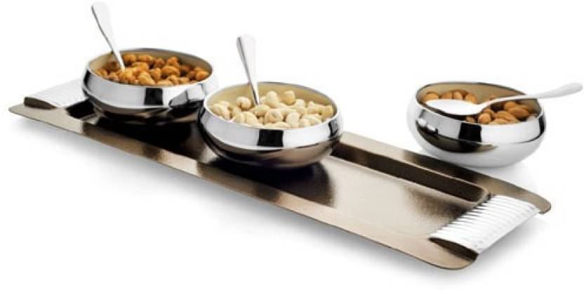 Pleasing Exciting Lives Snack Tray Bowl Spoon Tray Serving Set Download Free Architecture Designs Saprecsunscenecom