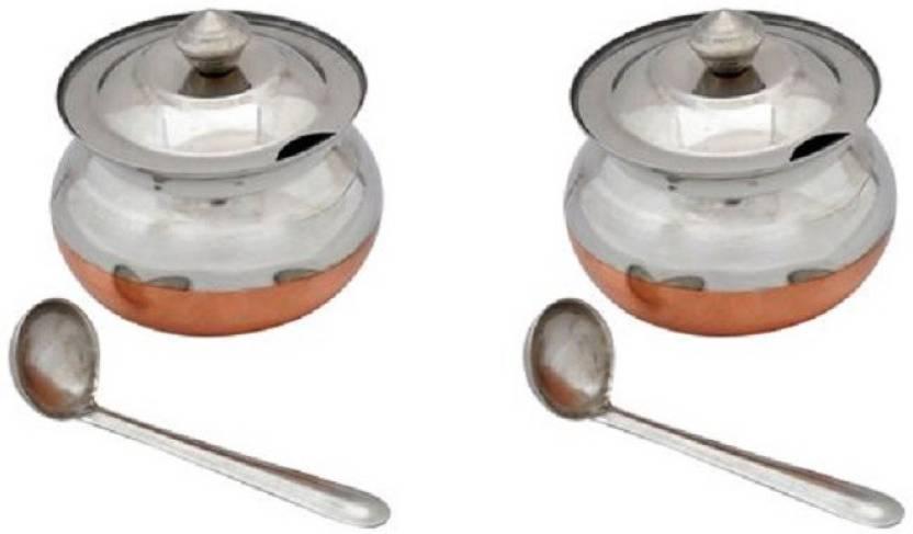 Beaut Ghee Pot Bowl Spoon Serving Set Price in India Buy Beaut