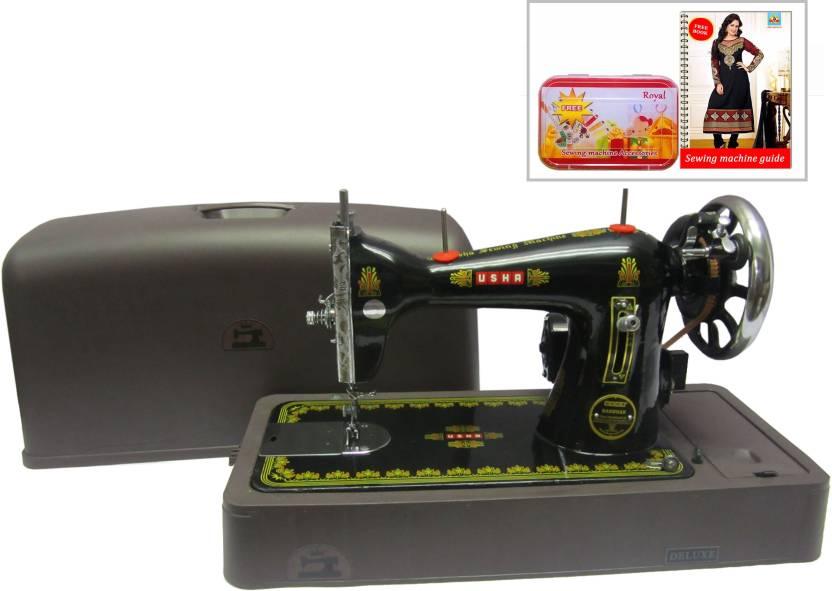 Usha Bandhan Aristocase Electric Sewing Machine Price In India Buy Custom Sewing Machine Price Flipkart