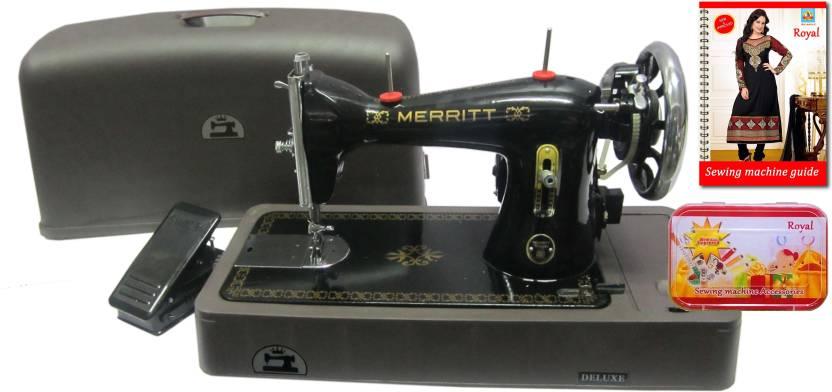 Merritt Ladies Use Royal Accessories Deluxe Motor Deluxe Base Extraordinary Merritt Sewing Machine Price