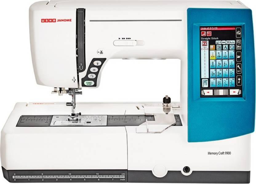 Usha MEMORY CRAFT40DIGITIZERJR Embroidery Sewing Machine Price Delectable Sewing Machine Price Flipkart